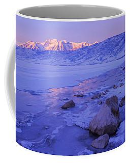 Sunrise Ice Reflection Coffee Mug