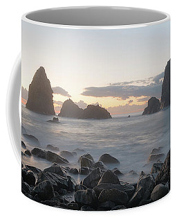 Sunrise In Aci Trezza, Sicily Coffee Mug
