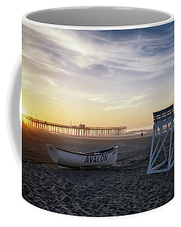 Sunrise In Avalon Coffee Mug by Eduard Moldoveanu