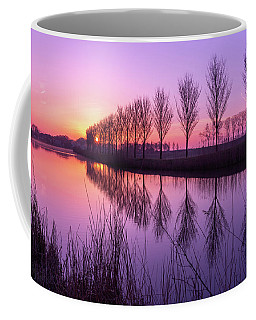 Coffee Mug featuring the photograph Sunrise In Holland by Susan Leonard
