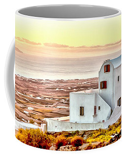 Sunrise In Imeroveglion Coffee Mug