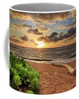 Coffee Mug featuring the photograph Sunrise In Kapaa by James Eddy