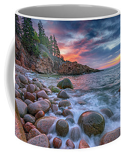 Sunrise In Monument Cove Coffee Mug by Rick Berk