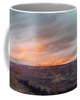 Sunrise In The Canyon Coffee Mug by Jon Glaser