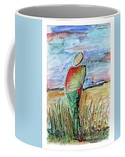 Sunrise In The Grasses Coffee Mug
