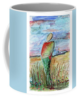 Sunrise In The Grasses Coffee Mug