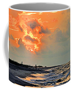 Coffee Mug featuring the photograph Sunrise In The Gulf by Kristin Elmquist
