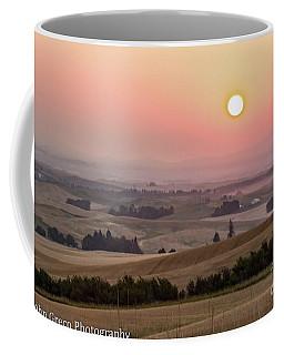 Sunrise In The Palouse  Coffee Mug