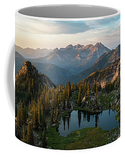 Sunrise In The Wasatch Coffee Mug