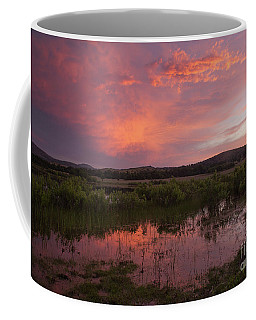 Sunrise In The Wichita Mountains Coffee Mug by Iris Greenwell