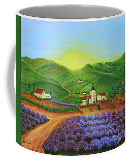 Sunrise In Tuscany Coffee Mug