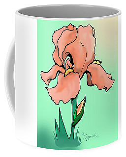 Sunrise Iris Coffee Mug