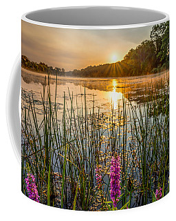 Sunrise Kent Lake Coffee Mug by Patrick Shupert