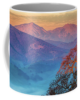 Sunrise Light On Mt. Diablo Coffee Mug
