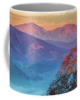 Sunrise Light On Mt. Diablo Coffee Mug by Marc Crumpler
