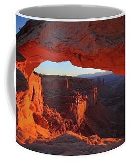 Sunrise Lights Mesa Arch At Canyonlands National Park Coffee Mug
