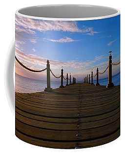Sunrise Morning Bliss Pier 140a Coffee Mug
