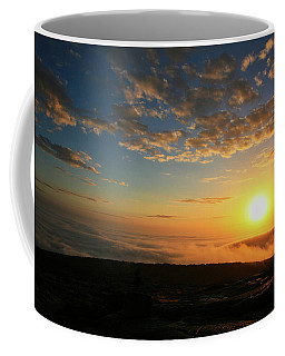 Sunrise On Cadillac Mountain Coffee Mug