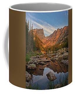 Sunrise On Dream Lake Coffee Mug