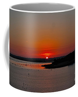 Sunrise On Lake Ray Hubbard Coffee Mug
