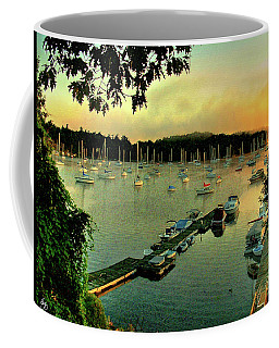 Sunrise On Mallet's Bay Coffee Mug