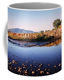 Sunrise On Nariel Creek Coffee Mug by Lexa Harpell