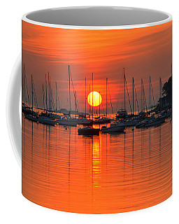 Sunrise On Salem Harbor Salem Ma Coffee Mug