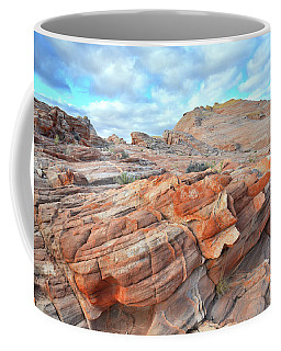 Sunrise On Sandstone In Valley Of Fire Coffee Mug