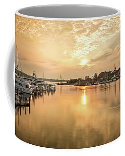 Sunrise On Spa Creek Coffee Mug