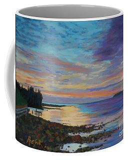 Sunrise On Tancook Island  Coffee Mug