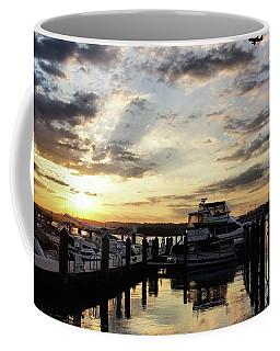 Sunrise On The Alexandria Waterfront Coffee Mug
