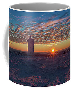 Sunrise On The Brocken, Harz Coffee Mug by Andreas Levi
