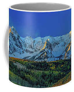 Sunrise On The Dallas Divide Coffee Mug