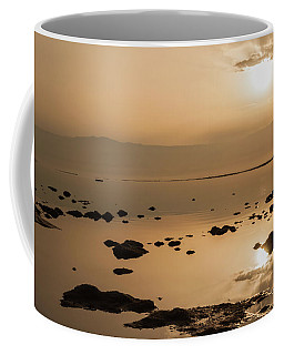 Sunrise On The Dead Sea Coffee Mug