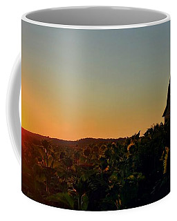 Coffee Mug featuring the photograph Sunrise On The Farm by Chris Berry