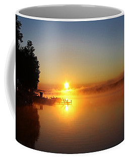 Coffee Mug featuring the photograph Sunrise On The Lake 2 by Bruce Bley