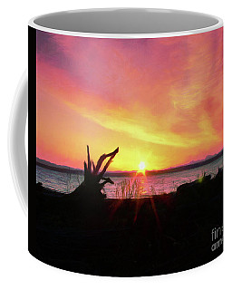 Sunrise On The Puget Sound Coffee Mug