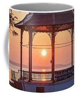 Sunrise On The Revere Beach Bandstand Revere Ma Coffee Mug