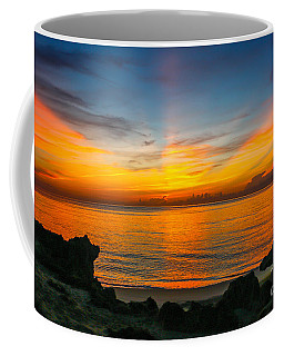 Sunrise On The Rocks Coffee Mug