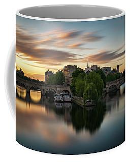 Sunrise On The Seine Coffee Mug