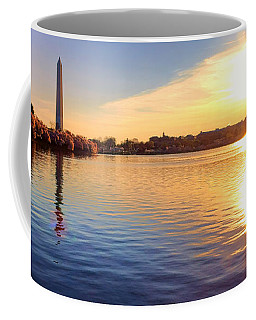 Sunrise On The Tidal Basin Coffee Mug