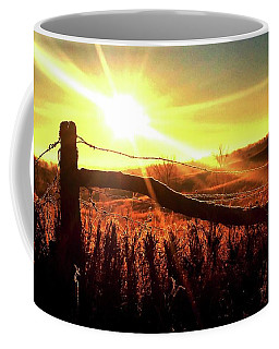 Sunrise On The Wire Coffee Mug