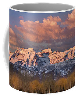 Sunrise On Timpanogos Coffee Mug