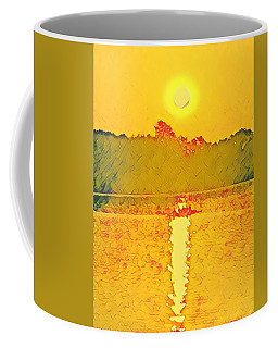 Sunrise On Town Lake Coffee Mug