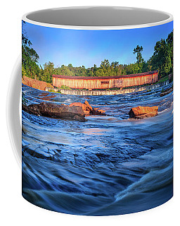 Sunrise On Watson Mill Bridge Coffee Mug