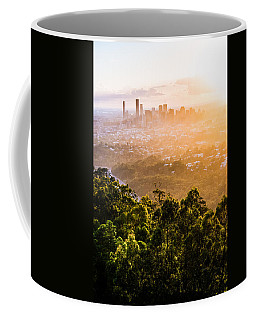 Sunrise Over Brisbane Coffee Mug