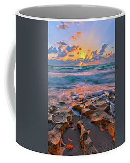 Sunrise Over Carlin Park In Jupiter Florida Coffee Mug