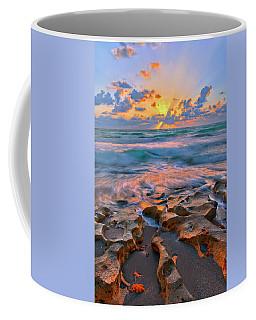 Sunrise Over Carlin Park In Jupiter Florida Coffee Mug by Justin Kelefas