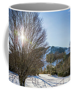 Sunrise Over Cataloochee Ski Coffee Mug