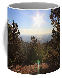 Coffee Mug featuring the photograph Sunrise Over Colorado Springs by Christin Brodie